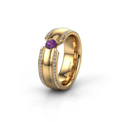Ehering WHR0575L 585 Gold Amethyst ±7x2 mm