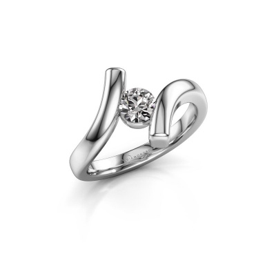 Ring Amy 925 zilver diamant 0.40 crt
