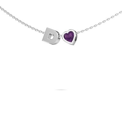 Picture of Initial pendant Initial 040 585 white gold