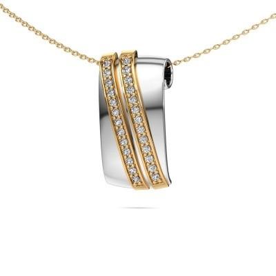 Foto van Hanger Sithri 585 witgoud lab-grown diamant 0.312 crt