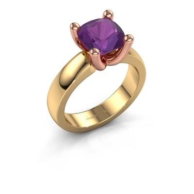 Ring Clelia CUS 585 gold amethyst 8 mm
