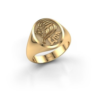 Picture of Signet ring Xander 585 gold