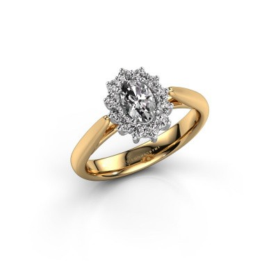 Picture of Engagement ring Margien 1 585 gold diamond 0.50 crt