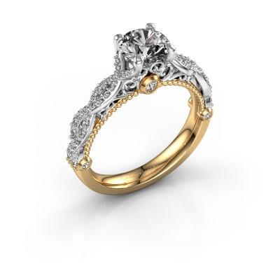 Verlovingsring Chantelle 585 goud diamant 1.397 crt