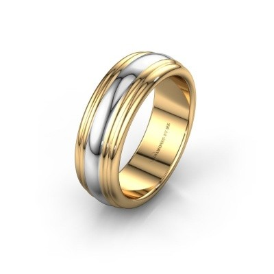 Wedding ring WH2234LN 585 gold ±0.24x0.09in