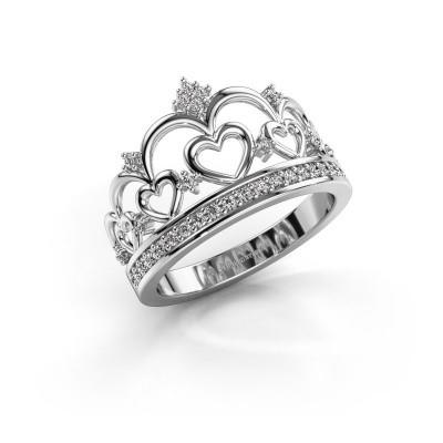 Ring Kroon 2 585 white gold lab-grown diamond 0.238 crt