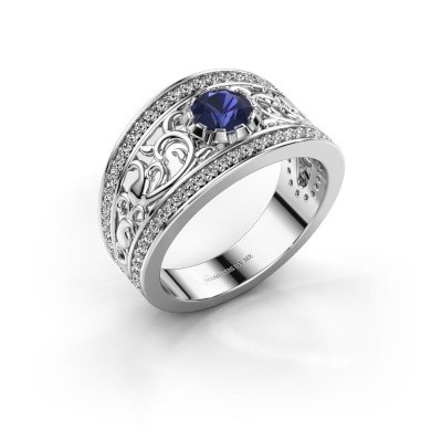 Picture of Ring Marilee 585 white gold sapphire 5 mm