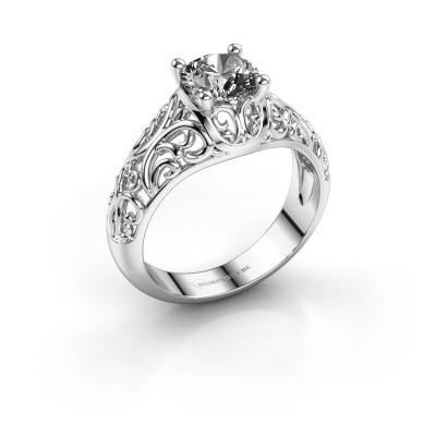 Foto van Ring Mirte 925 zilver diamant 1.00 crt