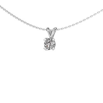 Hanger Eva 375 witgoud lab-grown diamant 0.50 crt
