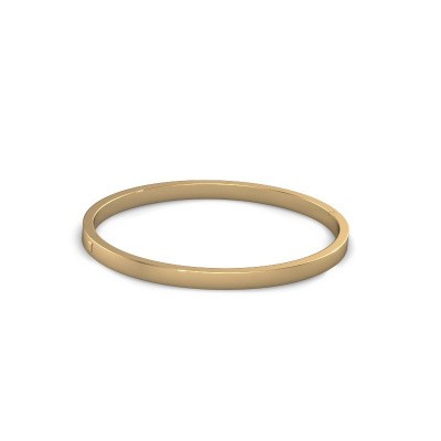 Picture of Bangle Edra 4mm 585 gold
