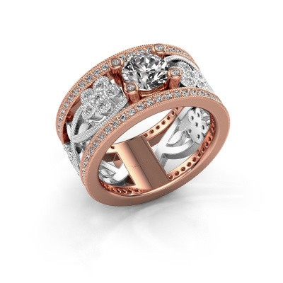 Picture of Ring Severine 585 rose gold diamond 1.405 crt