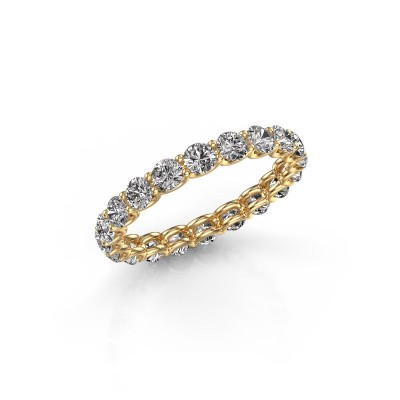 Bild von Ring Kirsten 2.9 375 Gold Lab-grown Diamant 1.90 crt