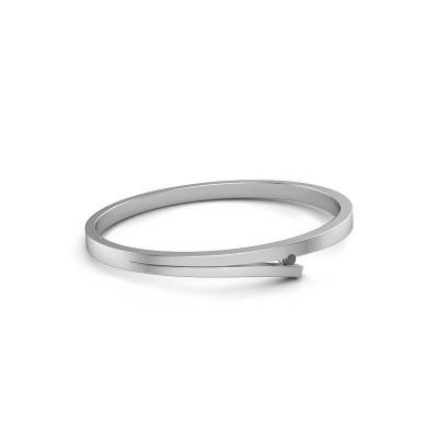 Picture of Bangle Rosario 585 white gold black diamond 0.12 crt