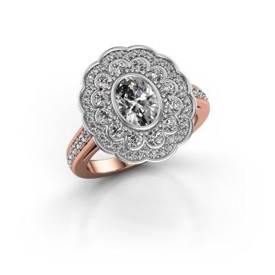 Foto van Ring Jocelyn 585 rosé goud lab-grown diamant 1.596 crt