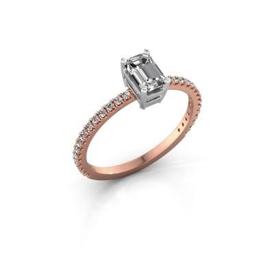 Foto van Verlovingsring Denita 2 585 rosé goud lab-grown diamant 0.70 crt