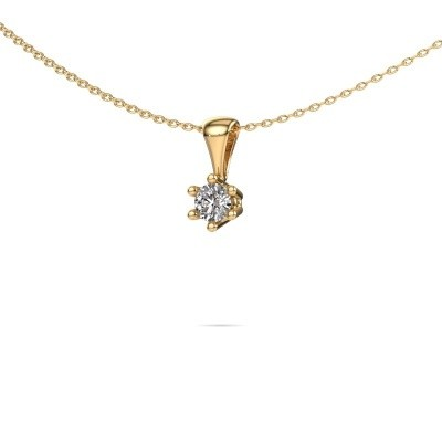 Foto van Ketting Fay 375 goud lab-grown diamant 0.25 crt