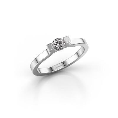 Foto van Verlovingsring Jodee 585 witgoud lab-grown diamant 0.50 crt
