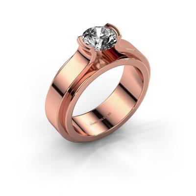 Verlobungsring Jacinda 585 Roségold Diamant 1.00 crt