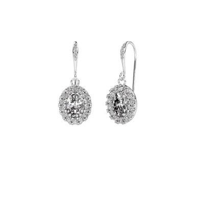 Oorhangers Jorinda 2 375 witgoud lab-grown diamant 2.19 crt