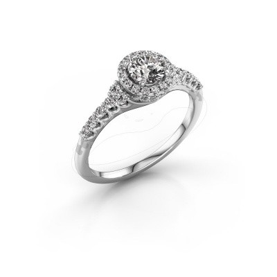 Picture of Engagement ring Loralee 585 white gold diamond 0.873 crt