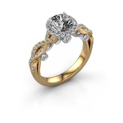 Verlobungsring Madeleine 585 Gold Diamant 1.485 crt