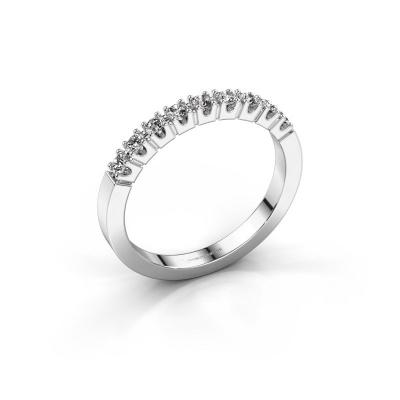 Picture of Engagement ring Dana 9 950 platinum zirconia 2 mm