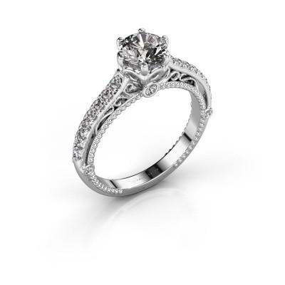 Foto van Verlovingsring Venita 925 zilver diamant 1.345 crt