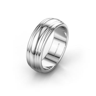 Wedding ring WH2234LN 950 platinum ±6x2.2 mm