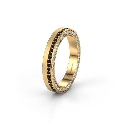 Ehering WH2214L15BM 375 Gold Schwarz Diamant 0.605 crt ±5x2 mm