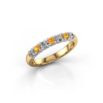 Picture of Engagement ring Rianne 7 585 gold citrin 2.4 mm