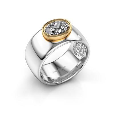Foto van Ring Anouschka 585 witgoud diamant 1.15 crt