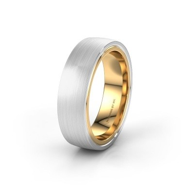 Wedding ring WH2230M26E 585 gold ±0.24x0.09in