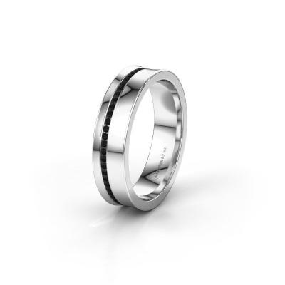 Ehering WH6090L55A 950 Platin Schwarz Diamant ±5x1.7 mm