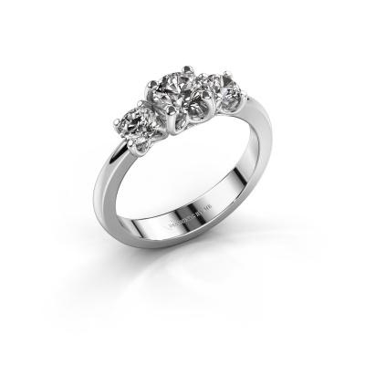 Verlobungsring Detra 585 Weißgold Lab-grown Diamant 1.00 crt