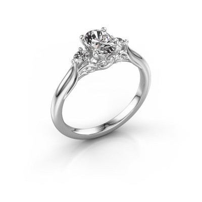 Picture of Engagement ring Laurian OVL 585 white gold diamond 1.00 crt