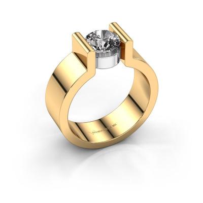 Verlovingsring Isabel 1 585 goud diamant 1.00 crt