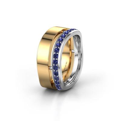 Ehering WH6008L18BP 585 Gold Saphir ±10x2 mm
