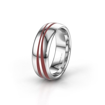 Weddings ring WH2226M36BP 375 white gold ±6x2 mm