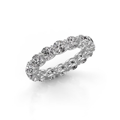 Picture of Stackable ring Kristen 4.0 585 white gold diamond 4.00 crt