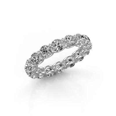 Bild von Vorsteckring Kristen 4.0 585 Weißgold Diamant 4.00 crt