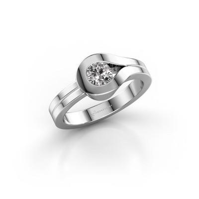 Bague Kiki 925 argent diamant 0.40 crt