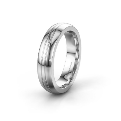 Trouwring WH0416M25E 925 zilver ±5x2.4 mm