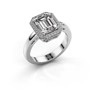 Verlovingsring Dodie 1 925 zilver diamant 2.65 crt