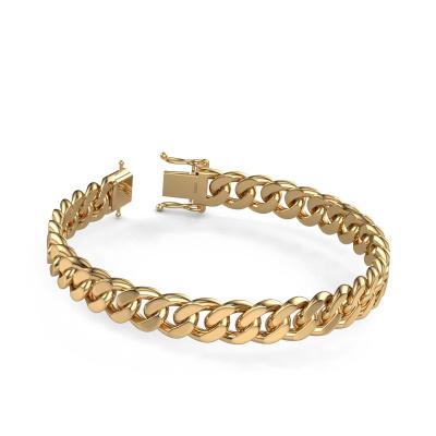 Foto van Cuban armband ±10 mm 585 goud