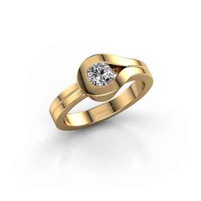 Ring Kiki 585 gold diamond 0.40 crt