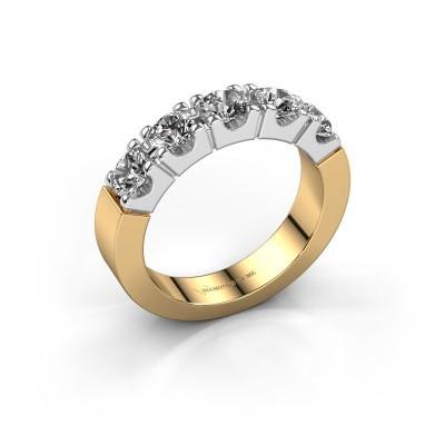 Foto van Verlovingsring Dana 5 585 goud diamant 1.25 crt