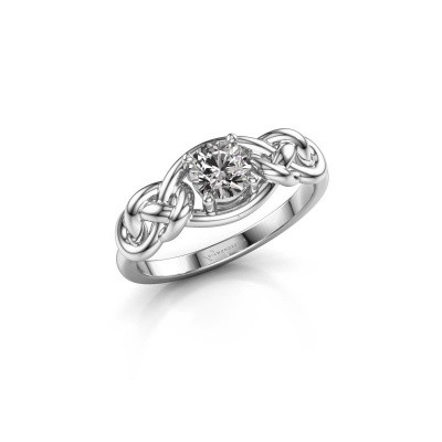 Picture of Ring Zoe 585 white gold lab-grown diamond 0.50 crt