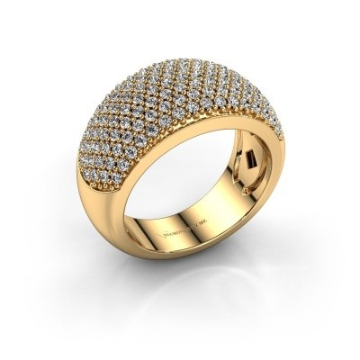 Picture of Ring Kati 375 gold zirconia 1.3 mm