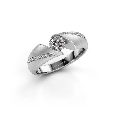Verlovingsring Hojalien 2 585 witgoud diamant 0.62 crt