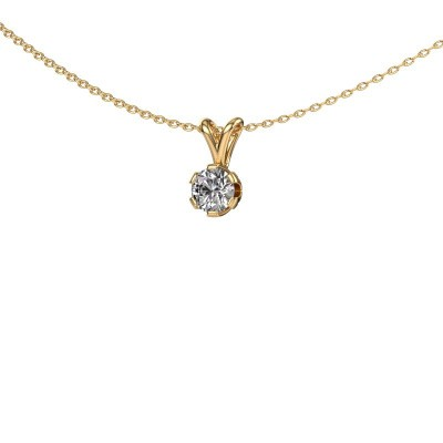 Foto van Ketting Julia 375 goud lab-grown diamant 0.50 crt